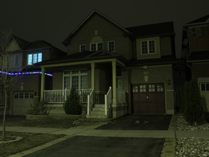 A home at 78 Saffron St. in Markham. Police executed a search warrant on the property Thursday night, seizing over 1,000 Marijuana plants.