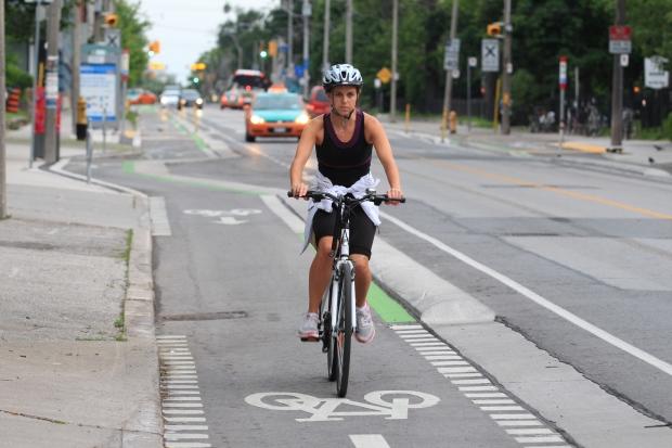 Sherbourne Street bike lanes