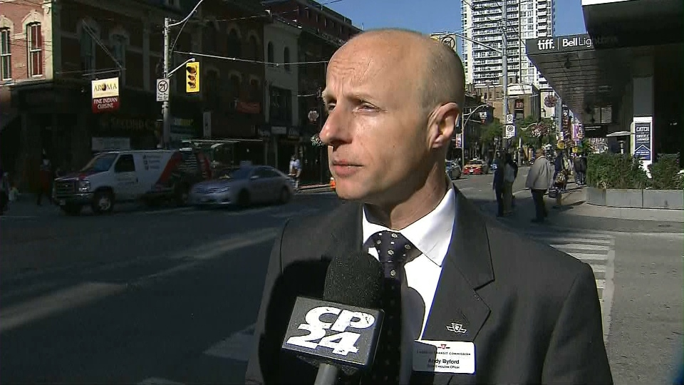 TTC CEO Andy Byford speaks to CP24 on Thursday, June 20, 2013.