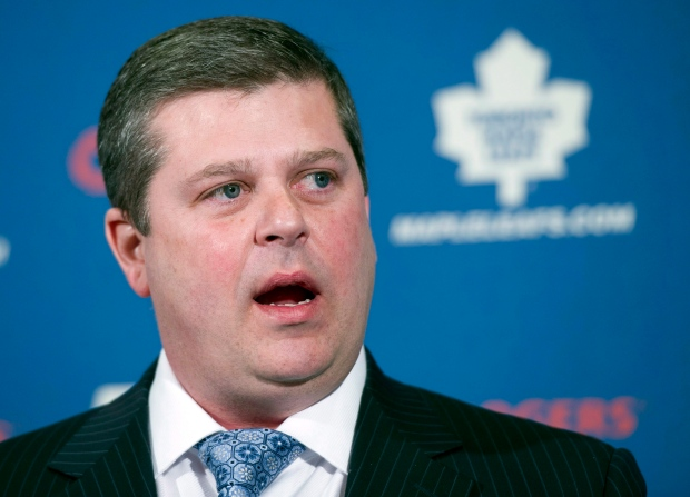 Toronto Maple Leafs GM Dave Nonis