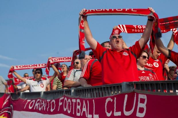 Toronto FC fans file