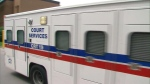 A court services truck is seen in this undated file photo.