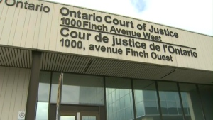 The Finch Avenue courthouse is seen in this undated file photo.