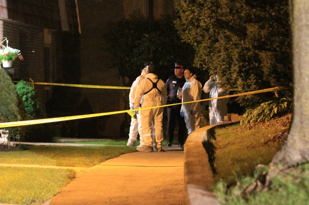 Old Burnhamthorpe Road triple homicide