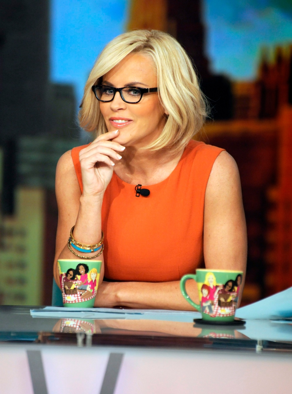 """This undated image released by ABC shows Jenny McCarthy on """"The View,"""" in New York. (AP Photo/ABC, Donna Svennevik)"""