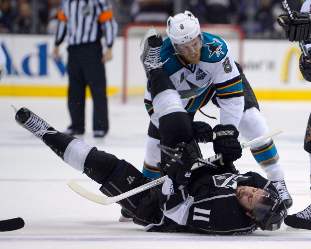 sharks sign pavelski to fiveyear extension cp24com