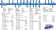 Taste of the Danforth 2013 activities map