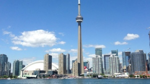 Toronto's skyline is pictured. (Chris Kitching/CP24)
