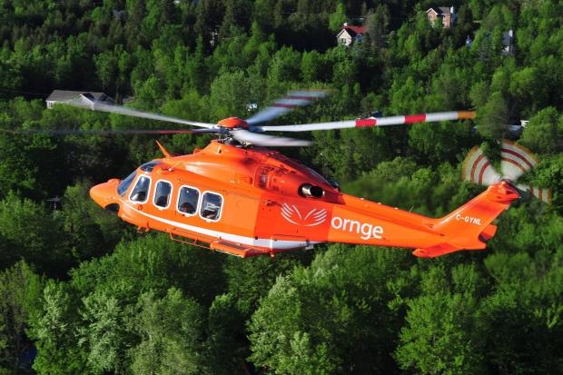 Ornge helicopter - CP24 file