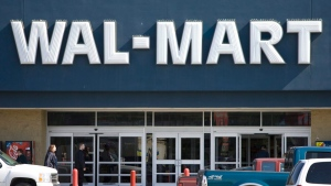 A Wal-Mart store is pictured in this file photo from Wednesday, June 24, 2009. (Geoff Howe /The Canadian Press)