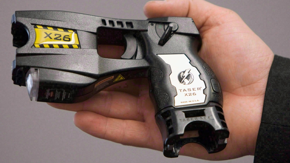 About 40 per cent of taser deployments involve person in