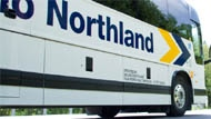 Ontario Northland Bus. Gravelle says planned investments in ONTC infrastructure include more than $23 million over three years to purchase new motor coaches for its bus line and to refurbish rail coaches for the Polar Bear Express. (ontarionorthland.ca)