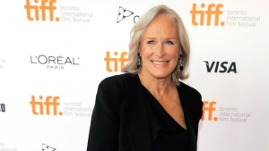 "Glenn Close, a cast member in the 1983 film ""The Big Chill,"" poses for photographers before a reunion screening of the film at the 2013 Toronto International Film Festival at The Princess of Wales Theatre on Thursday, Sept. 5, 2013. (Chris Pizzello / Invision)"