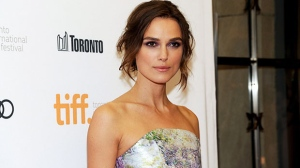 Keira Knightley arrives at the premiere of 'Can A Song Save Your life' on day 3 of the Toronto International Film Festival at The Princess of Wales Theatre in Toronto on Saturday, Sept. 7, 2013. (Evan Agostini/Invision)