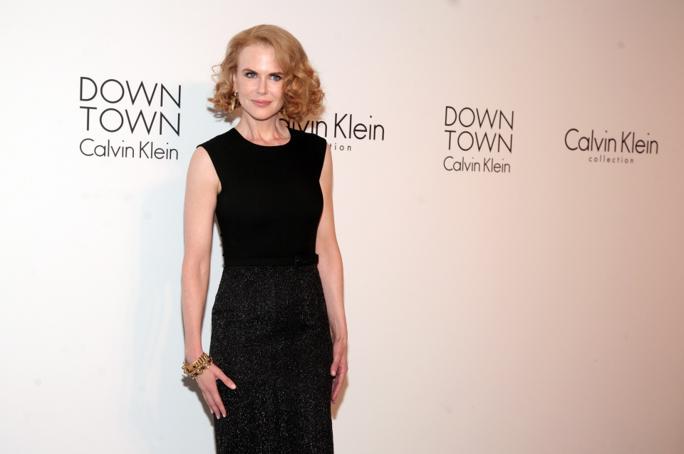 Actress Nicole Kidman arrives at the Calvin Klein post show event at Spring Studios on Thursday, Sept. 12, 2013, in New York. (Photo by Andy Kropa/Invision/AP)