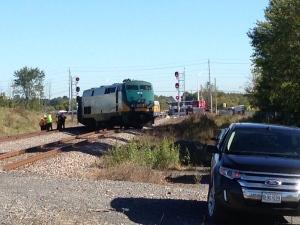 train, Via, crash, Ottawa, bus