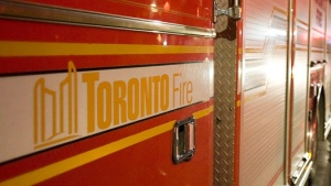 A Toronto fire truck is seen in this file image. (The Canadian Press/Aaron Vincent Elkaim)