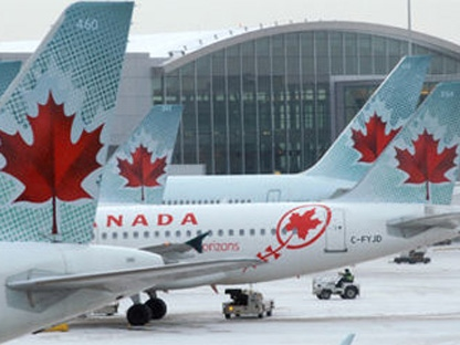 Chorus Aviation, Air Canada's largest regional operator, says it was not invited to bid on routes it currently serves in U.S. markets.