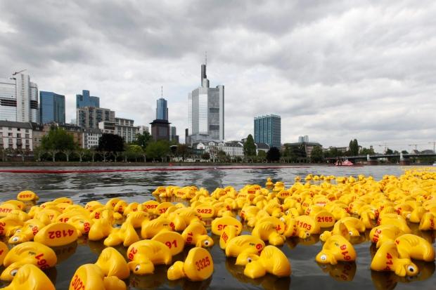 Wisconsin bill seeks to legalize rubber duck races