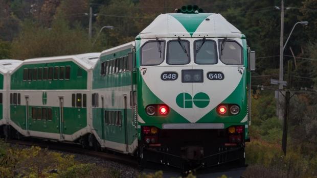 GO Transit train