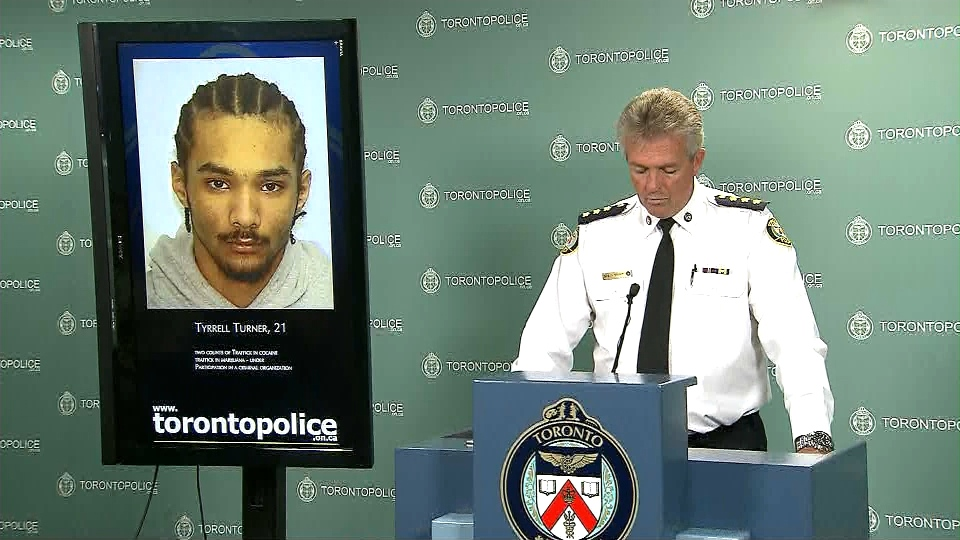 Homicide squad Staff Insp. Greg McLane speaks to reporters at a news conference Friday, Oct. 4, 2013.