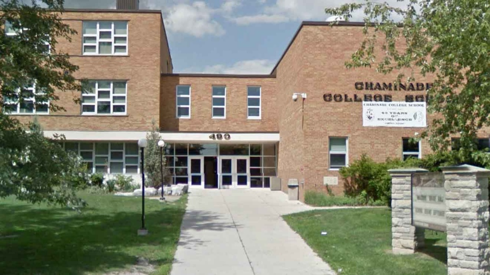Chaminade College School is pictured in this Google Maps image.