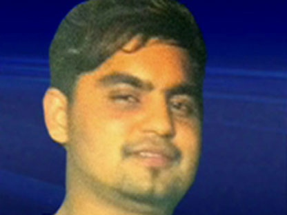 Nitish Khanna, 19, is seen in this undated photo.