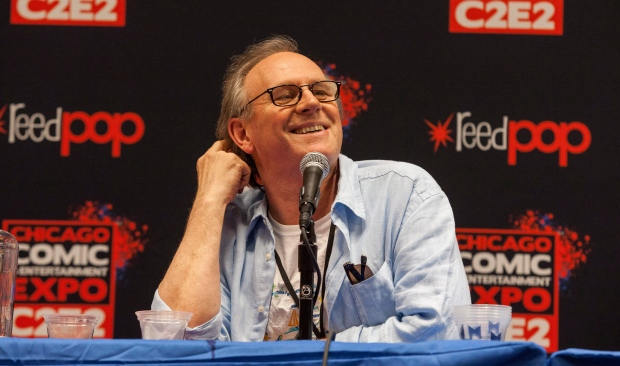Actor Peter Davison seen at the Chicago Comic  amp  Entertainment Expo at    Actor Peter Davison