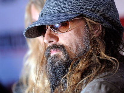 Rob Zombie arrives at the second annual Revolver Golden Gods Awards in Los Angeles, Thursday, April 8, 2010. (AP Photo/Chris Pizzello)