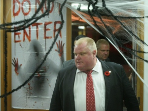 Police say they have video of Mayor Rob Ford