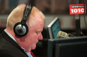 Toronto Mayor Rob Ford radio announcement