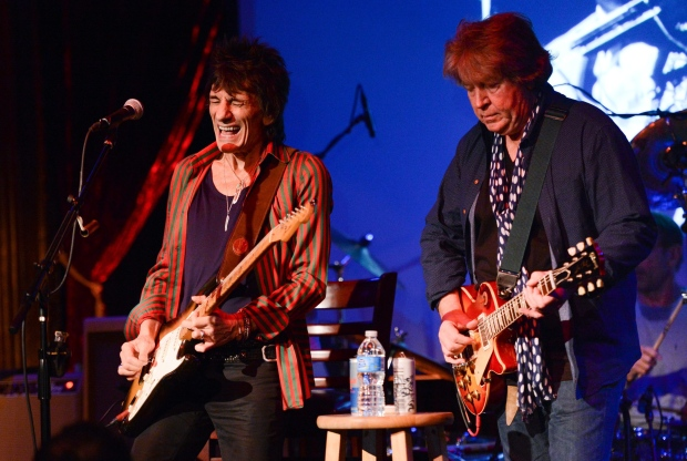 Rolling Stone Magazine Reviews Ronnie Wood Mick Taylor At The Cutting Room