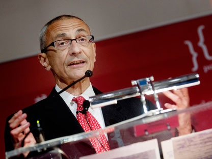 John Podesta, president of the Center for American Progress, speaks as he chairs a meeting in Oslo Thursday May 12, 2011. (AP Photo/Kyrre Lien, Scanpix Norway)