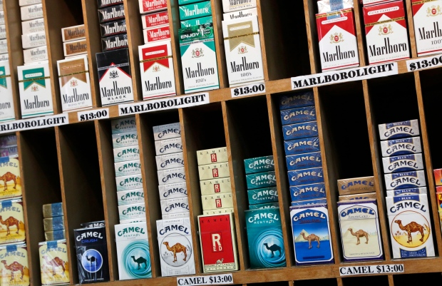 How much cigarettes American Legend cost New Jersey