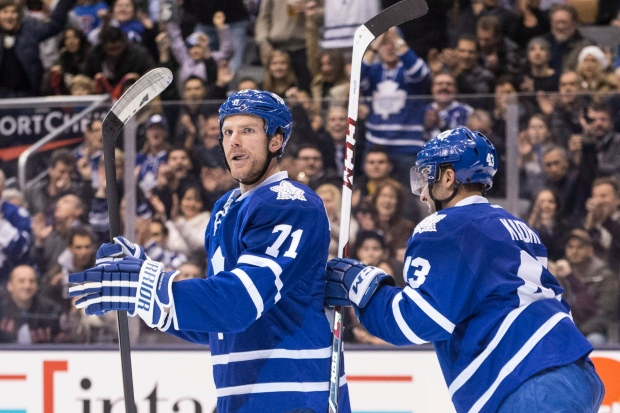 Leafs beat Capitals in overtime