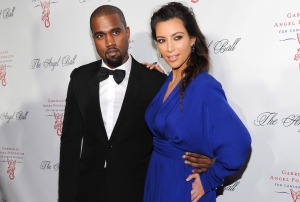 In this Oct. 22, 2012, file photo, singer Kanye West, left, and Kim Kardashian attend Gabrielle's Angel Foundation 2012 Angel Ball cancer research benefit at Cipriani Wall Street in New York. (Photo by Evan Agostini/Invision/AP, File)