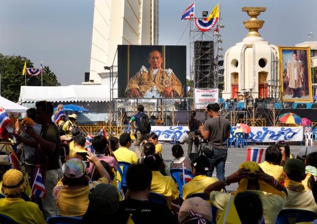 Thailand celebrates king's birthday