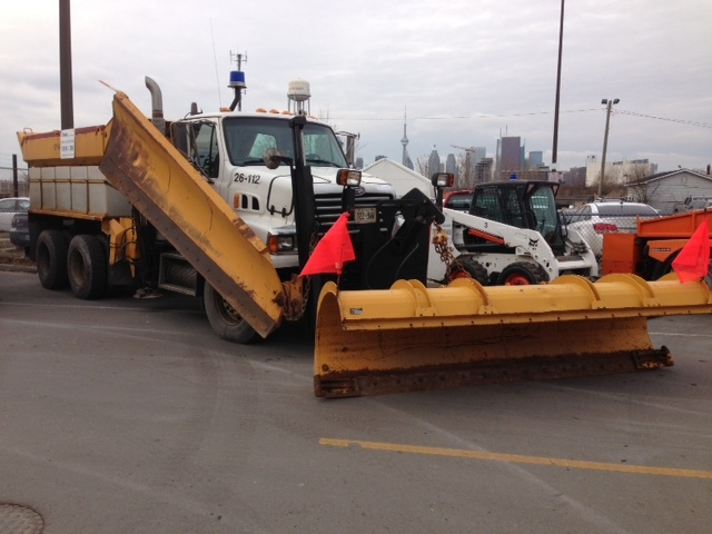 A City of Toronto snowplow is pictured in this file photo. (Cam Woolley/CP24)