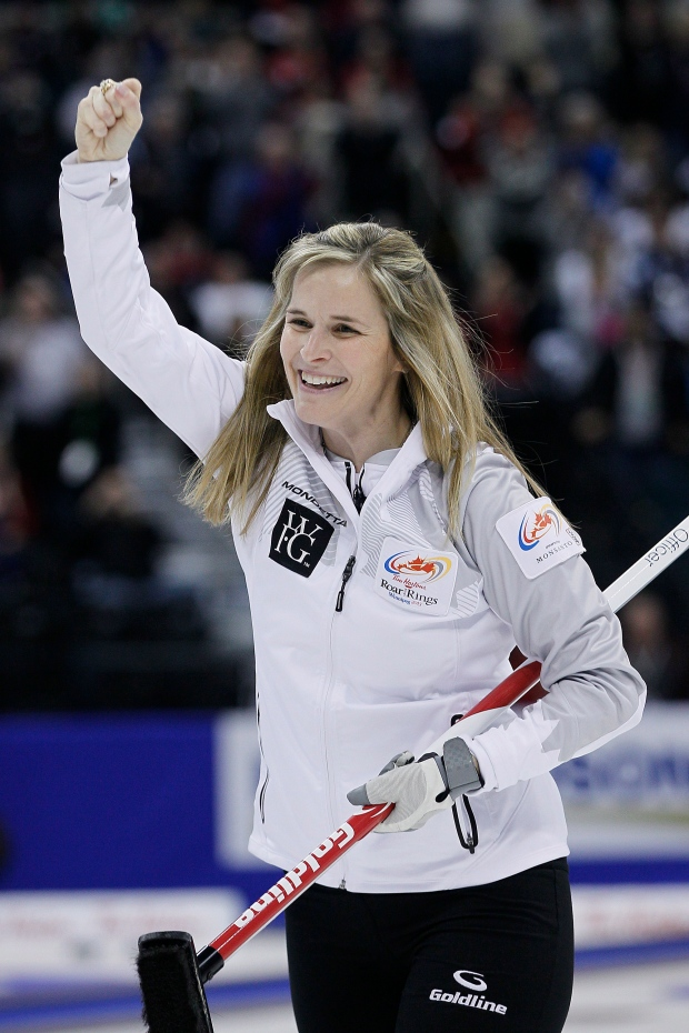 Jones Curling Olympics Skip Jennifer Jones Curling