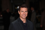 """This Dec. 10, 2012 file photo shows actor Tom Cruise at the world premiere of """"Jack Reacher,"""" held at the Odeon Leicester Square, in London. (Photo by Jon Furniss/Invision/AP)"""
