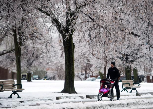 Toronto ice storm
