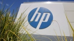 In this Aug. 21, 2012, file photo, the Hewlett-Packard Co. logo is seen outside the company's headquarters in Palo Alto, Calif. (AP Photo/Paul Sakuma, File)