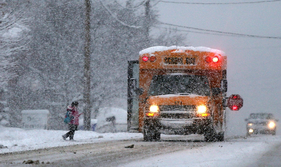 Peel District School Board School Closures Today: School Bus Cancellations For Monday, Dec. 12, 2016