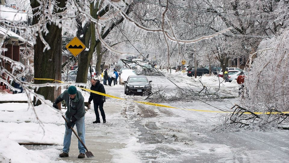 Snow Storm Toronto: Ontario To Provide Up To $190M For Ice Storm Cleanup
