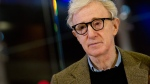 Woody Allen poses on the red carpet of the movie 'To Rome with Love' on April 13, 2012. (AP / Andrew Medichini)