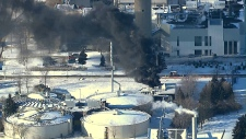 Fire at Pickering water treatment plant