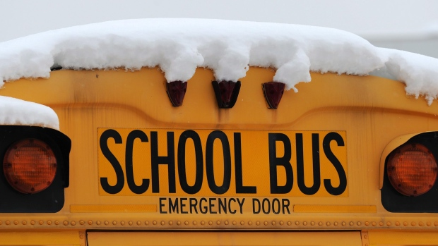 School bus cancellations in Ontario