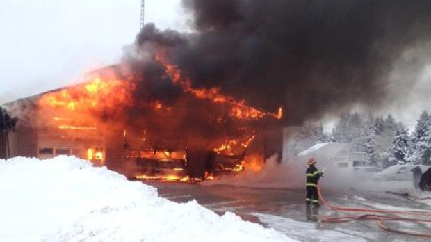 Mount Albert fire station destroyed by fire