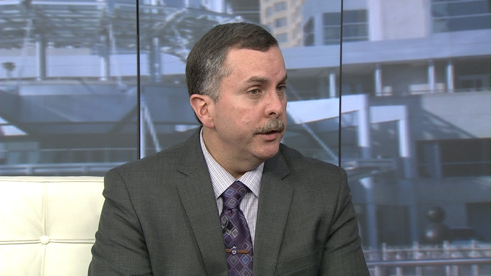 "Det. Sgt. Gary Giroux speaks with CP24 on Monday afternoon. Giroux says an investigation into the activities of Mayor Rob Ford remains ""active"" and ""continuing."""