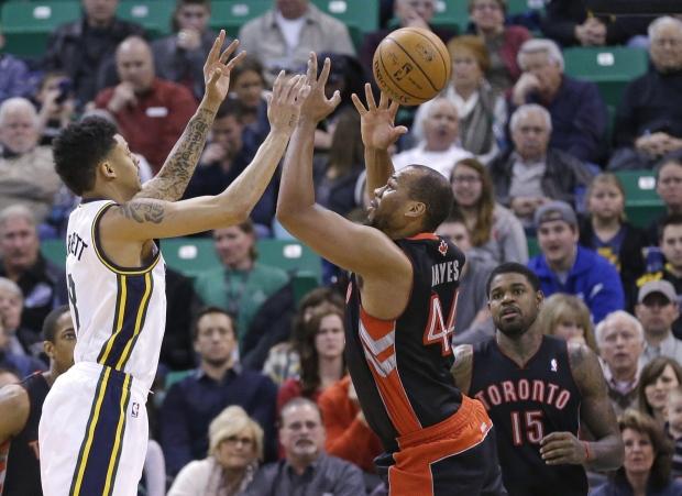 Toronto Raptors' Chuck Hayes